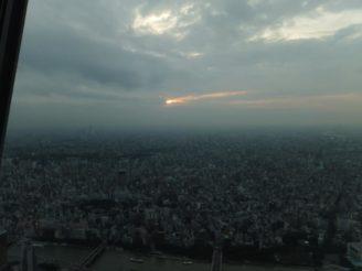 東京スカイツリー行ってきました2(夕方から夜)^^