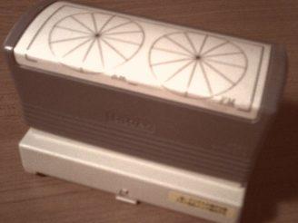 【引き出しの中の必需品02】 アイボス・オリジナルタイムスケジュールスタンプ