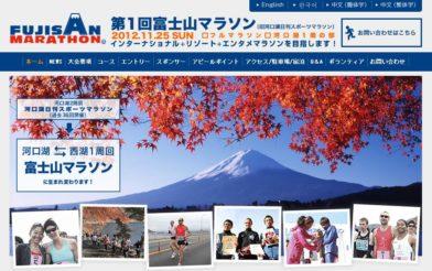 第1回富士山マラソン・フルを走ります!!
