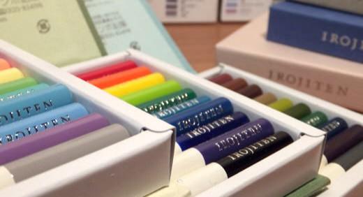 色辞典・IROJITEN(トンボ鉛筆の色鉛筆)によって具現化された自然界の絶妙なトーン。色辞典なら欲しかった色合いがきっと見つかる