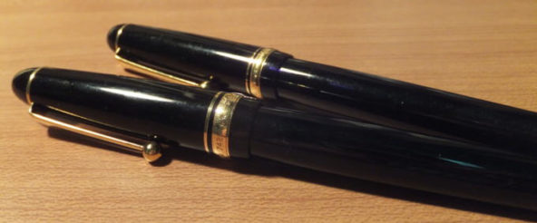 カスタム742(パイロット)を2本目の本格万年筆として選択! ペンが躍ると心も躍る^^