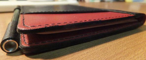 オレ流薄いメモ帳の使い方(2012.12.24) ~消せる紙がToDoホワイトボード&付箋メモリバ~