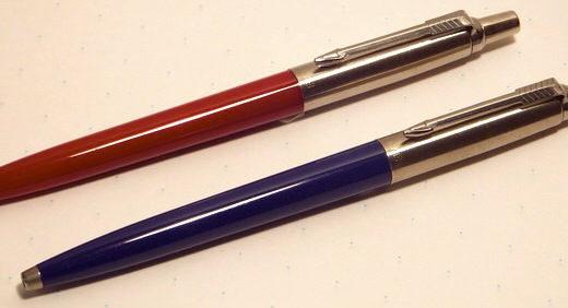 パーカーの定番ボールペン・ジョッター。キホンをしっかり押さえた 良い意味で「無難」な一本≡