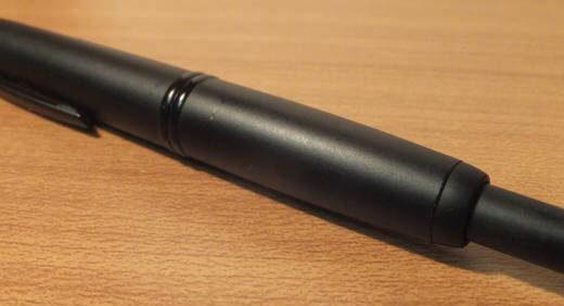 キャップレス・マットブラック(PILOT)が5本目の万年筆! 機動性に優れた超実用的な一本♪