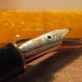 スーベレーンM320(ペリカン)が6本目の万年筆! オレンジのボディと型番に縁を感じました♫