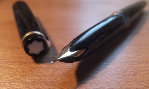 No.22 (MONTBLANC)が8本目の万年筆。祖父が残したウイングニブのビンテージ万年筆