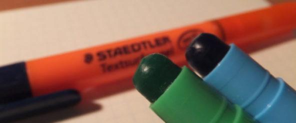 テキストサーファーゲルに新色2色が追加! 普通の蛍光ペンにありがちな心配を気にせずに済むスグレモノ