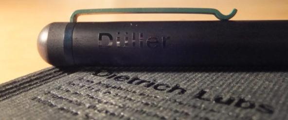 ディートリッヒ・ルブスがデザインした万年筆。コンパクトなボディにBRAUNのさりげない緑色が映えます