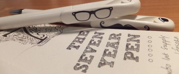 セブンイヤーボールペン(seltzer)は名前通り7年使える? このペンを今持てば東京五輪に間に合う?