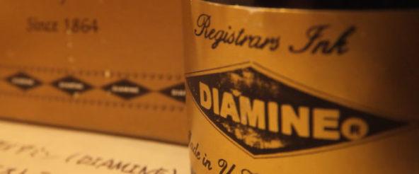 ダイアミンのレジストラーズインクは耐水性優秀な没食子インク。扱い方を知って長期記録に向く強い味方を享受