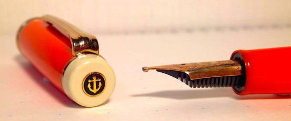 特殊ペン先・ミュージックニブ(MS)の万年筆でユニークなメリハリがある筆跡を奏でる♪ セーラー・プロギア別注モデルの雰囲気と似合う