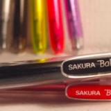 ボールサインノック(サクラクレパス)は艶めかしきゲルインクペン。素晴らしき新生・ボールサインはカラーペンの勢力図を書き換える!?≡