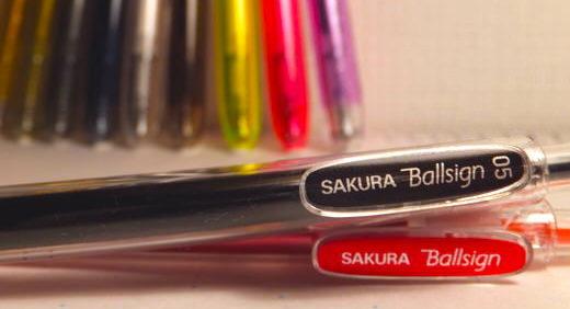 ボールサインノック(サクラクレパス)は艶めかしきゲルインクペン。素晴らしき新生・ボールサインはカラーペンの勢力図を書き換える!?