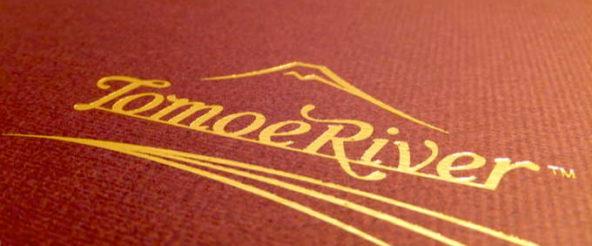 トモエリバー(超軽量印刷用紙)のペーパーパッド。薄くても滲まず、サラサラとした書き心地は流石