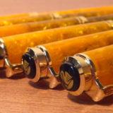 ペリカンの万年筆・スーベレーンM320 オレンジの全字幅揃えが完成! 念願成就して悦に入る≡