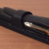 相棒の万年筆(M320)に合わせて 堅牢なペンケース「グリマルディ300」(T.MBH)を所望。格好良さに酔いしれる!≡