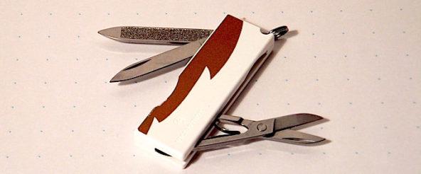 VICTORINOX TOMO(ビクトリノックス トモ)。 小さなボディにふだん使える三つのツール
