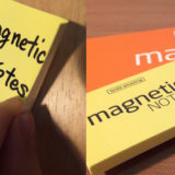 マグネティックノート (magnetic notes)は フシギなフセン。相手を選ばず、ピタリくっつく