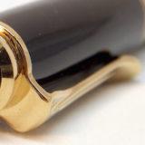 ペリカンの万年筆「スーベレーンM300」の1990年代モデル。天冠の2羽の雛&18Cニブはめずらしい≡