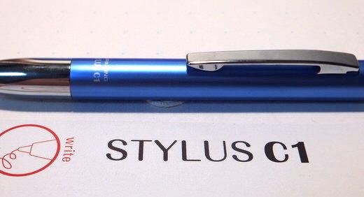 STYLUS C1(ZEBRA)はコスパ抜群のボールペン付スタイラスペン。安くても機能性がしっかりモノ、全く問題がない